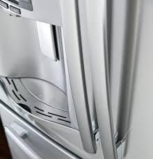 ge glass door refrigerator pfe28rshss ge profile series 27 7 cu ft french door
