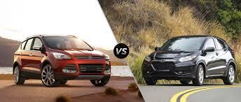 Ford Escape Colors 2016 - ford escape vs 2016 honda hr v