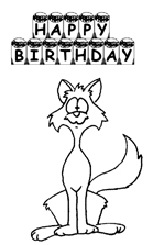 coloring birthday card free printable coloring cards free
