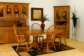 Solid Oak Dining Room Set Solid Oak Dining Table As A Fair Oak Dining Room Table Home