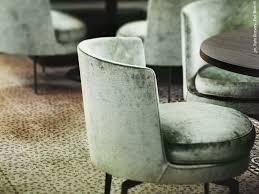Seafoam Green Chair by Flexform Chair In Jane Restaurant Antwerp Designed By Piet Boon