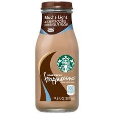 mocha frappuccino light calories starbucks frappuccino mocha lite coffee drink 4pk 9 5 fl oz glass