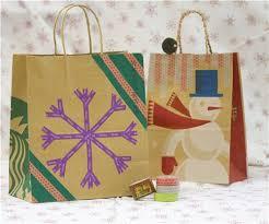 christmas paper bags christmas washi paper bags christmas diy washi crafts