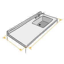 plan de travail cuisine inox sur mesure home inox fabrication d un plan de travail inox sur mesure