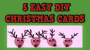 5 easy diy christmas cards 2015 easy tutorial card ideas diy