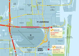 Port Of Miami Map by Warehouse Services At Port Everglades Fort Lauderdale