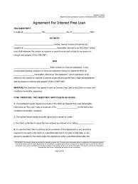 template loan agreement between friends sample loan agreements