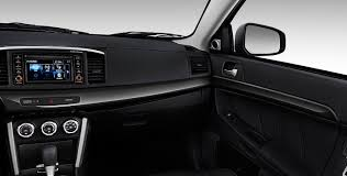 mitsubishi lancer 2017 interior 2017 mitsubishi lancer sports sedan mitsubishi motors