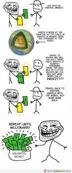 Funny Troll Meme - troll physics unlimited mone funny meme comic