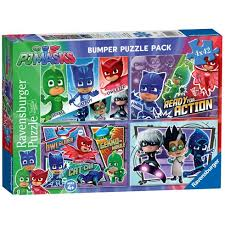 pj masks bumper puzzle pack 2 15 uk