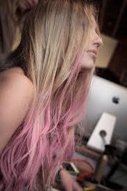 dye bottom hair tips still in style image result for light pink bottom hair style pinterest pink