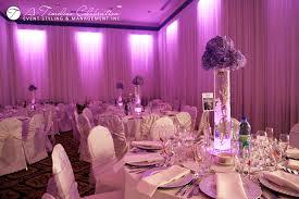 wedding flowers montreal modern wedding flower centerpiece purple hydrangeas white