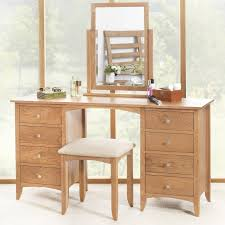 Bedroom Furniture Runners Edward Hopper Oak Dressing Table Only Large Dressing Table With