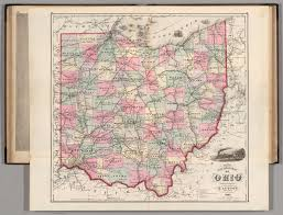 Map Of Ohio by Rail Road Map Of Ohio David Rumsey Historical Map Collection
