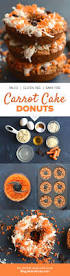 carrot cake donuts gluten free grain free protein