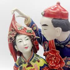 sale collectible antique chinese statues for wedding gifts