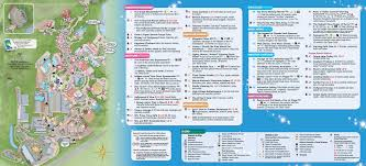 Orlando Tourist Map Pdf by 2014 Walt Disney World Park Maps With Fastpass Photo 5 Of 8