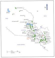 Map Iraq Cretaceous Oil Fields Map Saudi Arabia Kuwait And Iraq