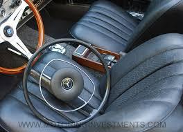 Steering Wheel Upholstery Mercedes 280sl W113 Buyer U0027s Guide Motoringinvestments Com