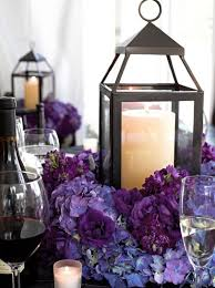 Lanterns For Wedding Centerpieces by Color Inspiration Purple Wedding Ideas For A Regal Event Purple
