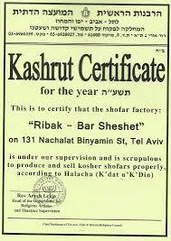 kosher shofar barsheshet ribak shofarot israel shofar makers