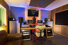 Studio Production Desk by Subtractive Post Production Studio Westlake Pro Design Group