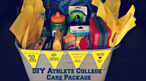 college care package athlete college care package with free printable tag