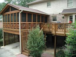 backyard wood deck designs home outdoor decoration