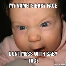 Baby Face Meme - baby face by photoshoper meme center