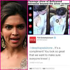 5 Deepika Padukone Controversies That Stunned Bollywood - was deepika padukone s cleavage video a compliment bollywoodlife com