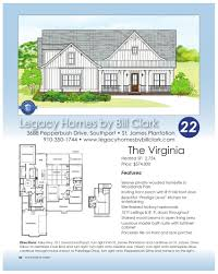 Bill Clark Homes Floor Plans by Brunswick County Parade Of Homes