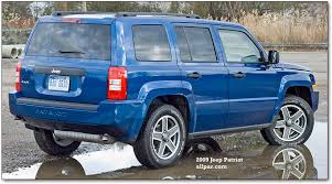reliability of jeep patriot 2009 jeep patriot test drive