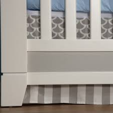 Pali Cribs Pali Cortina Forever Crib In White Grey