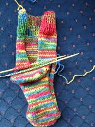knitting pattern for socks using circular needles two needle socks for those that fear dpn or circular needles