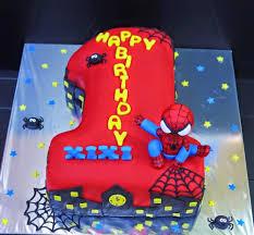 cupcake divinity shape 1 spiderman cake