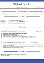 Free Templates Resume Resume Format Template Format Of Resume Cpics Sap Fico Sample