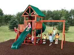 furniture madison wooden playsets with sings and wall climber for