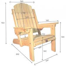 chaise adirondack ja learn plan pour chaise adirondack de jardin en bois newsindo co