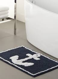 Seaside Bathroom Ideas by Marine Anchor Bath Mat 50 X 80 Cm Bath Mat Marines And Villas