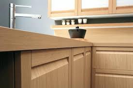 cuisine bois design cuisine massif design en bois plan de travail lapeyre
