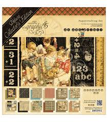 graphic 45 deluxe collector u0027s edition abc primer papercrafting set