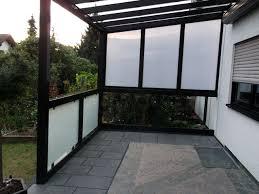 balkon und terrasse balkon terrasse überdachung in kd überdachung gmbh