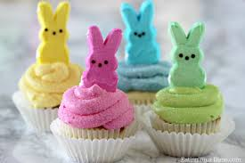 Cute Easter Cake Decorations by Peeps Cupcakes Easy Easter Cupcakes Easter Dessert Recipes