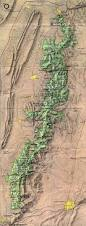 Topographic Map Of Ohio by 25 Best Map Of Appalachian Trail Ideas On Pinterest Appalachian