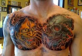 coverup chest piece tattoo picture tattoomagz