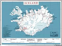 Iceland Map World Iceland