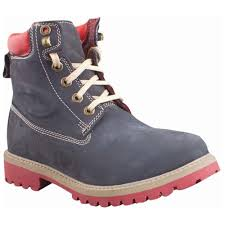 woodland men u0027s nubuck leather boots navy casual shoes for