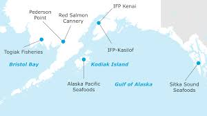 Gulf Of Alaska Map by Scope 04 North Pacific Seafoods Insight Marubeni Corporation