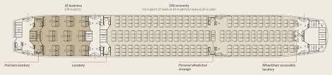 Boeing 777 Seat Map Royal Brunei Kicks Off Melbourne Boeing 787 Dreamliner Flights