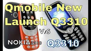 themes qmobile a63 q mobile 3310 vs nokia 3310 qmobile new model 2017 price youtube